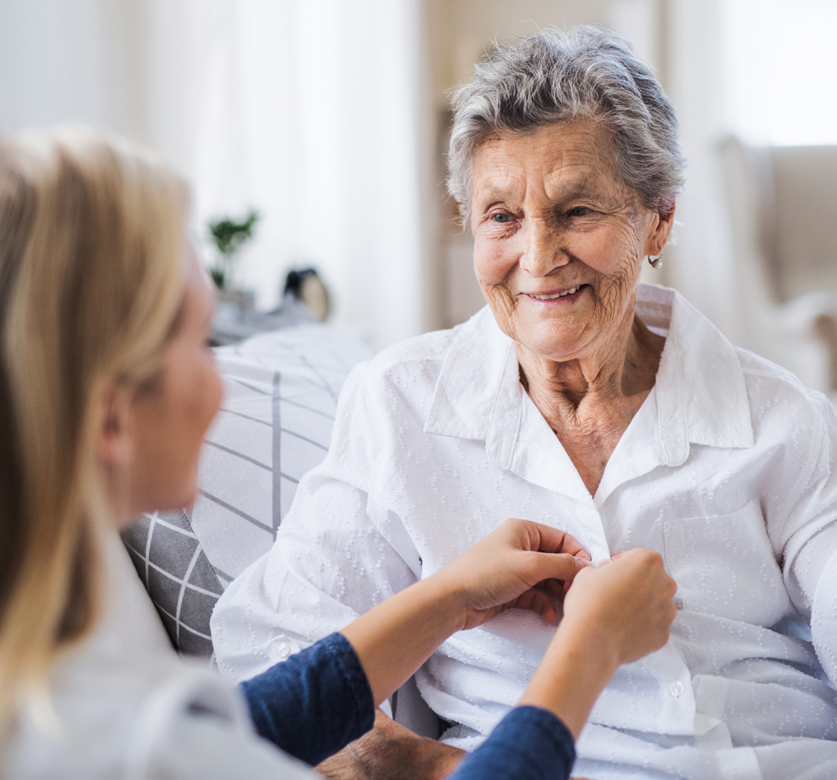 Betreuung und Pflege