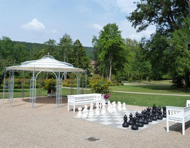 Kurpark Bad Brückenau Schach